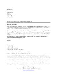 Covering Letter For Giving Quotation Submission For Proposalprice