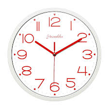 newest 12 inches metal frame modern fashion sweet heart design red hands lady love round wall clock decorative wall clock traditional clocks traditional