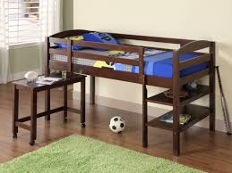 Image of: Boys Loft Bed Frames