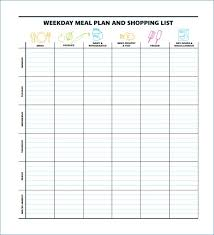 monthly meal planner template monthly meal planner template with grocery list hondaarti net