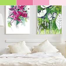 green meets pink canvas prints on purple and green canvas wall art with shop by color canvas art prints icanvas