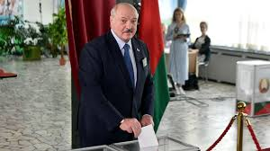 This move sparked protests across the country. Belarus Election Long Time Leader Alexander Lukashenko Gets Another Win Amid Protests World News Sky News
