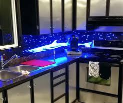 backsplash lighting. Unique Backsplash Led Kitchen Backsplash The All Things Cost With Lighting