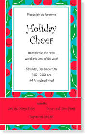 holiday invitation templates email christmas y invitation sample christmas invitation templates