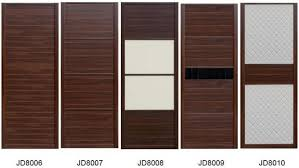 Sliding Wardrobe Closet doors in melamine board and Leather with Fabric  covered MDF doors also Solid wood Cabinets