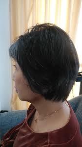 60代の髪型グレイヘア 大人女性の髪型心理サイト Max戸来
