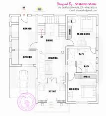 single floor 4 bedroom house plans kerala best of kerala style home plans single floor inspirational single floor 4