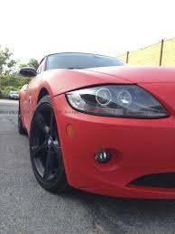 BMW 3 Series bmw z4 matte : Matte Red BMW Z4 | Vehicle Customization Shop | Vinyl Car Wrap ...