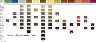 Redken Cover Fusion Chart New Redken Color Gels Color Chart