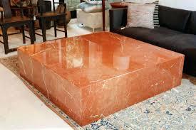 square marble coffee table low plinth small australia