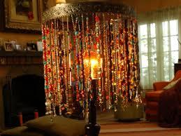 bohemian beaded lamp diy beaded lamp shades