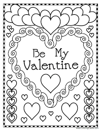 valentine heart coloring pages valentine heart coloring page love pages colouring valentines