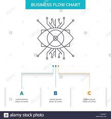 Ar Augmentation Cyber Eye Lens Business Flow Chart