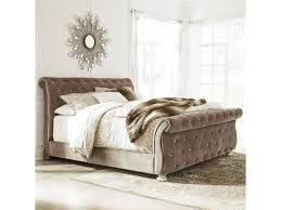 upholstered sleigh beds. Signature Design By Ashley CassimoreQueen Upholstered Sleigh Bed Beds O