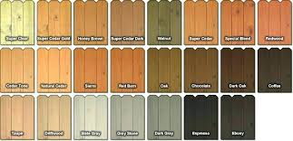 Valspar Exterior Stain Color Chart Deck Stain Colors Finish Semi Transparent Okon Wood Ecoyol