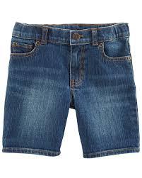 4t Size Chart Carters 5 Pocket Denim Shorts Carters Com