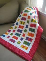 Fat Quarter Baby Quilt Pattern — 9 Stitches & Free baby quilt pattern Adamdwight.com