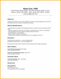 8 Cna Resume Skills Bursary Cover Letter