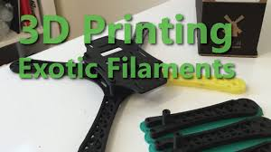 3D Print with <b>Carbon Fiber</b> and <b>TPU</b>! - 2015 - YouTube