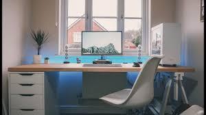 ultimate ikea office desk uk stunning. Simple Ikea Byte Review Setup Tour 2018  The Ultimate IKEA Desk With Ikea Office Desk Uk Stunning E