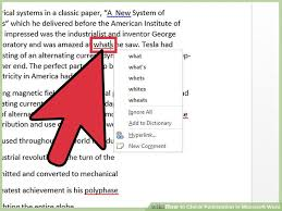 ways to check punctuation in microsoft word wikihow image titled check punctuation in microsoft word step 2