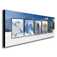 personalized ski wall art with themed images to spell your name personal prints on beach scene canvas wall art with beach scene canvas monogram wall art framed art paintings
