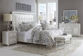 Sky Tower Bedroom Set White Cloud by Michael Amini
