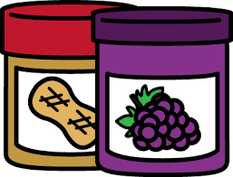 peanut butter and jelly clipart. Jar Of Peanut Butter And Jelly On Clipart MyCuteGraphics