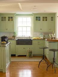 Green Kitchen Cabinet Doors Styling A Summer Country Living Feature Green Paint Colors And