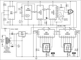 panel frequency meter electronics for you 1 the circuit of the panel frequency meter