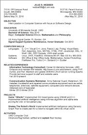 Resume Examples Umd Juliew Peppapp