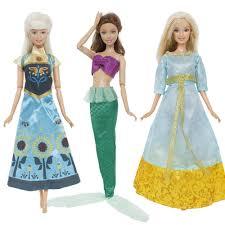 Vòng Tay 3 Bộ Truyện Cổ Tích Đầm Cổ Điển Hình Hoạt Hình Bộ Phim Vai Quần Áo  Cho Búp Bê Barbie Trẻ Hóa Công Chúa Trang Phục Đồ Chơi