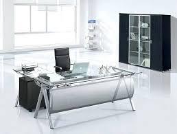 executive glass office desk. Glass Executive Desk Contemporary Minimalist Office C