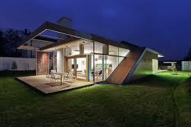 modern rectangular concrete house design idea