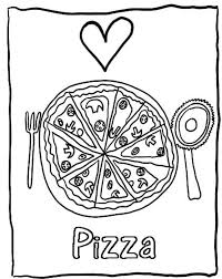 Small Picture Love Pizza Coloring Pages Of Food Foods Coloring pages of