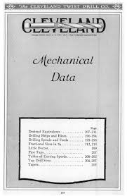 Cleveland Twist Drill Chart D001037 Cleveland Twist Drill Catalog 42