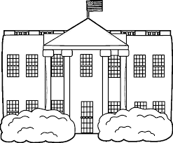 the white house coloring pages