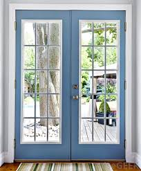 french doors are made up of panes or panels of glass