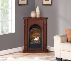 beautiful ideas corner ventless gas fireplace electric fireplaces