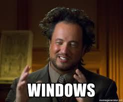 Risultato immagini per meme windows