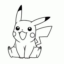 Pikachu Kleurplaat Pokemon Snorlax Norskiinfo