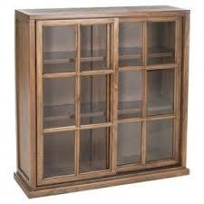 Locking bookcase glass doors