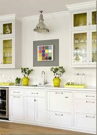 Opulent Design Yellow Kitchen Decor Naples Color Grey And