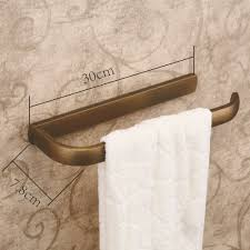 kitchen towel holder wall mounted. Hiendure Antique Brass Wall-mounted Kitchen Towel Rack Hanger Paper Holder Organizer Bar Bathroom Wall Mounted O
