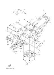 2013 yamaha raptor 250 yfm25rdl frame parts best oem frame parts yamaha raptor 250 atv wiring schematics