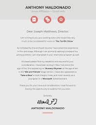 Portfolio Cover Letter Example 10 Cover Letter Templates And Expert Design Tips To Impress
