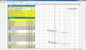 A Gantt Chart Graphs The Relationships Between Print Report Show Predecessors In Gantt Chart
