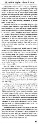 "essay on the "" n culture"" in hindi"