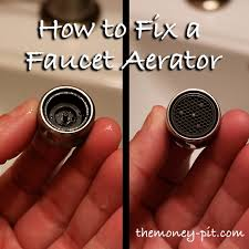 Bathroom Faucet Replacement Extraordinary Fixing A Faucet Aerator You CAN Be A DIY'r Too The Kim Six Fix