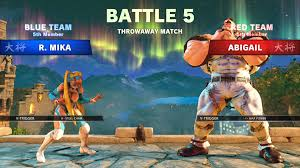 street fighter 5 arcade edition team versus mode revealed by wwe